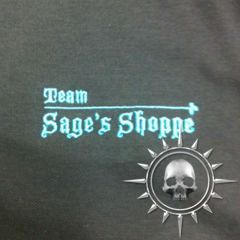 Team Sage's Shoppe Polo, Womens
