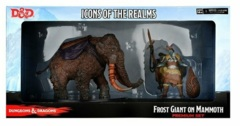 D&D Icons of the Realms: Snowbound - Frost Giant and Mammoth Premium Figure