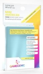Gamegenic: Prime Sleeves - Mini American (44 x 67mm) Yellow