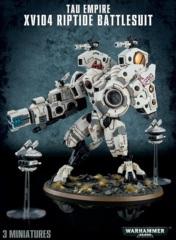 T'au Empire - XV104 Riptide Battlesuit