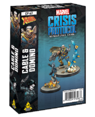 Marvel: Crisis Protocol Character Pack - Cable & Domino