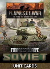 FW261S: Fortress Europe - Soviet Unit Cards