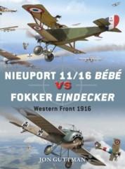 Duel: Nieuport 11/16 Bébé vs Fokker Eindecker - Western Front 1916