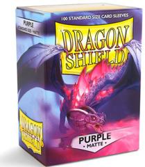 Dragon Shield, Matte Purple, 100-count box
