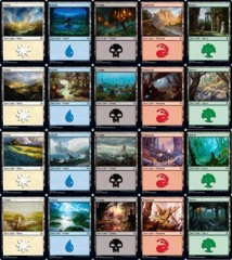 Land Pack - Throne of Eldraine (20 - 1 of each basic)