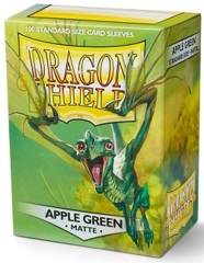 Dragon Shield: Standard - Matte Apple Green, 100-count box