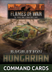 FW269HC: Hungarian Command Card Pack (33x Cards)