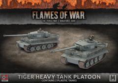 GBX107: Tiger Heavy Tank Platoon (Plastic)