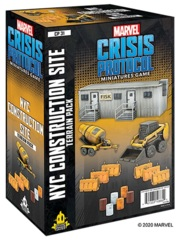 Marvel: Crisis Protocol - Terrain Pack NYC Construction Site