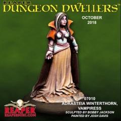 07010  Dungeon Dwellers - Adrasteia Winterthorn, Vampiress