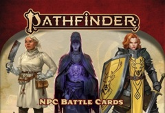 Pathfinder RPG (2nd Edition) Battle Cards: NPC Battle Cards
