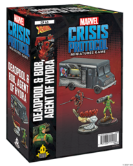 Marvel: Crisis Protocol Character Pack - Deadpool & Bob, Agent of Hydra