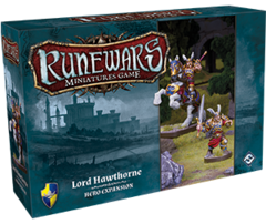 Runewars Miniatures Game: Daqan - Lord Hawthorne Hero
