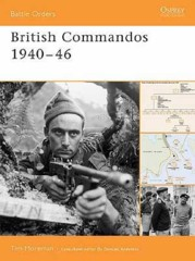 Battle Orders: British Commandos 1940-46