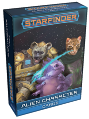 Starfinder Cards: Alien Character Cards