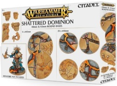 Shattered Dominion: 40 & 65mm Round Bases 66-97