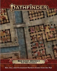 Pathfinder Flip-Mat Classics: Red Light District
