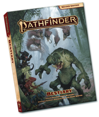 Pathfinder RPG (2nd Edition) Bestiary (pocket edition)