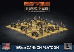 UBX82: 105mm Cannon Platoon (Plastic)