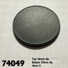 74049 - 50mm Round Gaming Base (10)