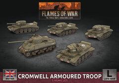 BBX57:  Cromwell Armoured Troop (Plastic)
