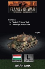 HU030: Turan tank (x1)