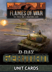 FW263U: D-Day Germans Unit Cards