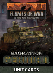 FW267U: Bagration - German Unit Cards