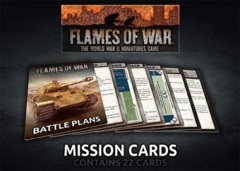 FW009-M: Flames of War: Mission Cards (22)