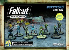 Fallout: Wasteland Warfare - Faction – Survivors, Core Box