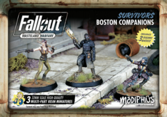 Fallout: Wasteland Warfare - Faction – Survivors, Boston Companions