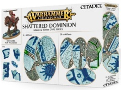 Shattered Dominion: 60 & 90mm Oval bases  66-98