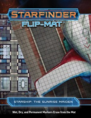 Starfinder Flip-Mat - The Sunrise Maiden