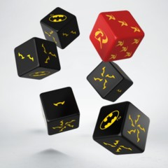 Batman Miniature Game 6d6-Dice Set - Batman