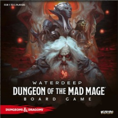 Dungeons & Dragons: Waterdeep: Dungeon Of The Mad Mage Board Game - Standard