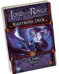 The Lord of the Rings: The Card Game - The Three Trials Nightmare Deck