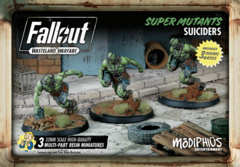 Fallout: Wasteland Warfare - Faction - Super Mutants, Suiciders