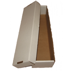 Card Storage Box, 800-count 2 piece corrugated cardboard