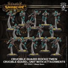 Crucible Guard Rocketmen Unit