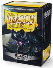 Dragon Shield: Standard - Black, 100-count box