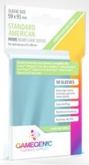Gamegenic: Prime Sleeves - Standard American (59 x 91mm) Green