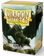 Dragon Shield: Standard - Green, 100-count box
