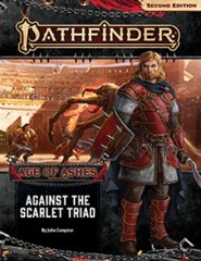 Pathfinder (2nd Edition) Adventure Path #149: Against the Scarlet Triad (Age of Ashes 5 of 6)