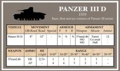 Battlegroup Datacards: BGK019 Early German