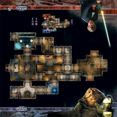 Star Wars: Imperial Assault -  Skirmish Map - Jabba's Palace