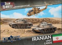 TIR901: Iranian Unit Cards
