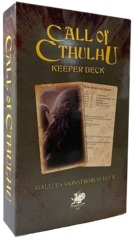 Call Of Cthulhu 7th ed: Malleus Monstrorum - The Malleus Monstrorum Keeper Deck