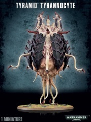 Tyranid - Tyrannocyte / Sporocyst and Mucolid Spore