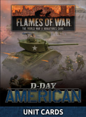 FW262U: D-Day Americans Unit Cards
