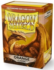 Dragon Shield 10013: Standard - Classic Orange, 100ct box